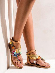 435171a17aed Premium handmade greek sandals by Elina Linardaki.
