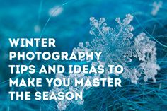 Winter Photography Tips and Ideas to Make You Master the Season | photodoto