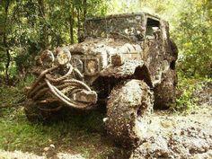 We got mud!