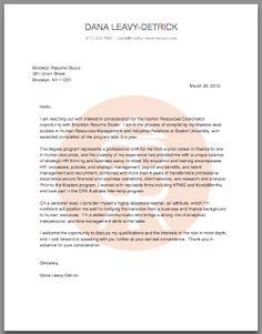 Sample Cover Letters | Brooklyn Resume Studio