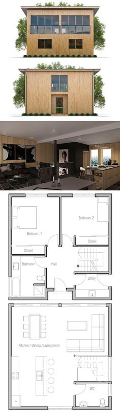 Small Lot House Plan
