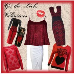"""Get the Look: Valentines"" by fdavenue on Polyvore"