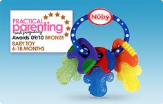 A lifesaver for teething infants! Tried and true #Nuby