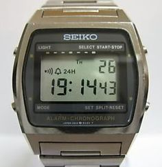 lcd watch vintage - Google Search