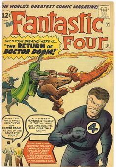 fantastic four and the mr. impossible | ... | My journey through the entire run of The Fantastic Four