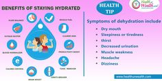 #HealthurWealth Health Tip #Drink more #water