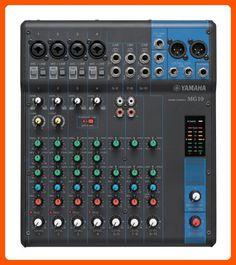 Yamaha MG10 10-Input Stereo Mixer - Audio gadgets (*Amazon Partner-Link)