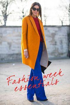 Seven fashion week essentials