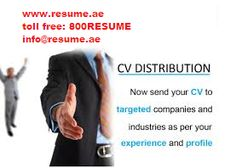 Resume.ae: Want to get NOTICED??? Get CV Distribution Service...