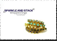 Picture of Sparkle and Stack Wrapped Rings