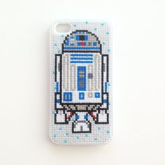 R2D2 Cross Stitch iPhone 4 Case Star Wars by BritterflyGarden, $40.00