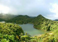 Fresh Water Lake, Dominica
