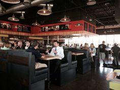 Hopdoddy Burger Bar - Scottsdale, AZ, United States. The booth...