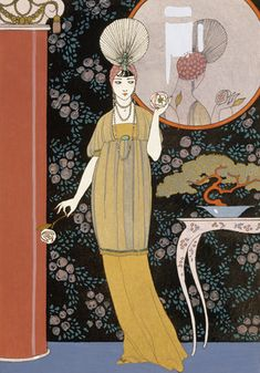 Sheherazade by Georges Barbier, c. 1914