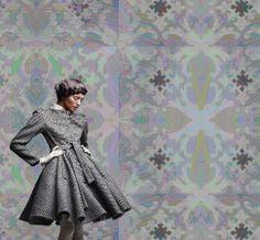 Baroque Design   Baroque wallpaper - KALEIDOSCOPE - yoyo designs ltd