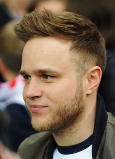 Pin for Later: 26 Times Olly Murs Made Our Hearts Skip (Skip) a Beat When he grew a bit of scruff and almost looked his age.