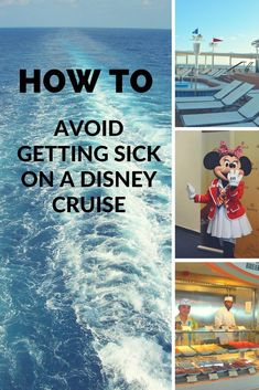 Want to know ways to prevent getting sick on a Cruise? Here are some tips and tricks for preventing and stopping seasickness on a cruise. Disney Magic Cruise Ship, Disney Cruise Alaska, Disney Halloween Cruise, Disney Fantasy Cruise, Disney Dream Cruise, Disneyland Cruise, Disney Cruise Door, Disney Honeymoon, Cruise Tips