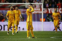 El Barça cau a trossos a Europa  #Barça #Futbol #FCB #Barcelona #Messi #Pique