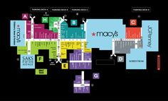 Pinterest Dadeland Mall Map on