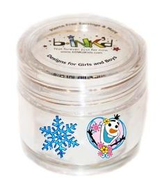 bINK'd Snowflake Snowman Heart Olaf Frozen - Use on Ears, Face, Knuckles, Nails, and more! Holiday Gift Guide, Holiday Gifts, Baby Massage, Building For Kids, Olaf Frozen, Make Your Own, How To Make, Biodegradable Products, Body Care