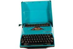 One Kings Lane - Vintage Decor & Eco-Friendly Products - SCM Smith-Corona Typewriter