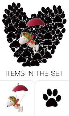 """""""SNOOPY PAWS"""" by tomboy-1-lol ❤ liked on Polyvore featuring art"""