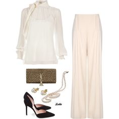 """""""Red Valentino blouse"""" by lellelelle on Polyvore"""