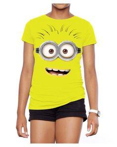 Despicable Me 2 Big Face Smile Adult Womens T-Shirt