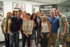 NYFA Acting Students Network with Top Casting Directors New York Film Academy, Film School, Guest Speakers, Acting, Students, It Cast, Tops