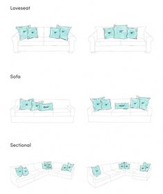 couch pillows 355854808058465700 - Apartment Decorating Living Room Couch Pillows Best Ideas Source by mywoen Couch Pillow Arrangement, Bedroom Arrangement, Furniture Arrangement, Couch Cushions, Diy Pillows, Throw Pillows, Decorative Pillows, Couch Throws, Living Room Pillows