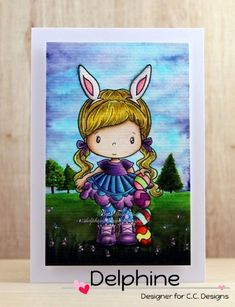 Delphine's place: CC Designs Easter Lucy
