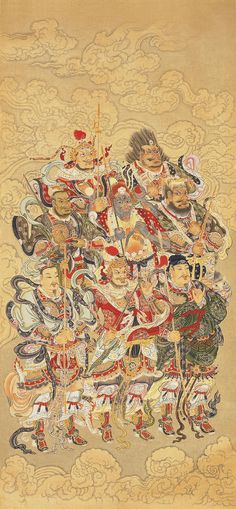 [ Thirty-two heavenly gods - East Iori ] Taoists believe , Purcell , according to the four directions , east and west sides will have eight days and eight days God East , South West eight days eight days 8 days north. Taoism, Buddhism, Folk Religion, Harmony Art, Chinese Armor, Chinese Mythology, Elves And Fairies, China Art, Japan Art