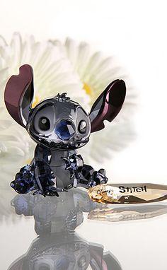 Swarovski Crystal Disney Collection, Stitch A perfect gift for any stitch fan Disney And Dreamworks, Disney Pixar, Walt Disney, Disney Characters, Disney Bounding, Swarovski Crystal Figurines, Swarovski Crystals, Disney Magic, Disney Art