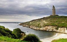 A Coruña en el norte