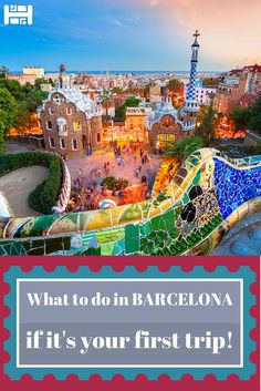 What to do in #Barcelona if it's your first visit? We have you covered :) #TravelTips