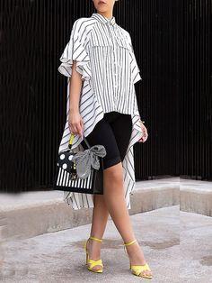 Wholesale Lady's Blouses & Shirts, Cheap Button Up Shirt Online Elegant Dresses Classy, Classy Dress, Cheap Fashion, Womens Fashion, Black Blouse, Casual Tops, Lady, Sleeve Styles, Shirt Blouses