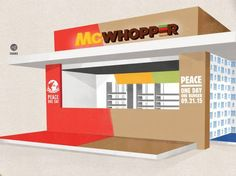 Burger King wants Mcdonald's to join forces in creating the McWhopper for world peace - Business News - Business - The Independent