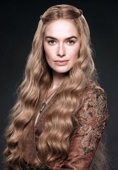"""""""Is she the most beautiful blonde on the planet? Elegant Hairstyles, Bride Hairstyles, Easy Hairstyles, Game Of Thrones Sansa, Game Of Thrones Books, Small Cornrows, Queen Cersei, Game Of Thrones Costumes, Cersei Lannister"""