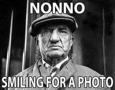 Nonno smiling for a photo
