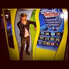 Post-studio arcade hang.