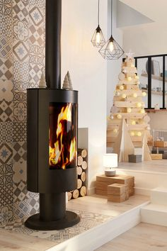 98 Best Poele Cheminee Images In 2019 Fireplace Design