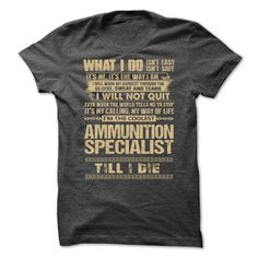 (Tshirt Popular) Awesome Shirt For Ammunition Specialist [Tshirt Best Selling] Hoodies, Funny Tee Shirts