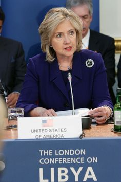 US Secretary of State at the London Conference on Libya (5570842641) - Hillary Clinton - Wikipedia, the free encyclopedia