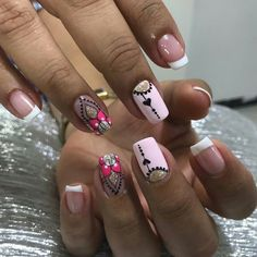 Gorgeous Nails, Love Nails, Fun Nails, Pretty Nails, Nail Spa, Manicure And Pedicure, Pretty Nail Designs, Nail Art Designs, Matte Nails