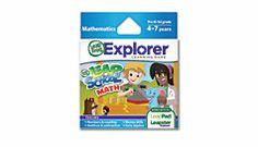 Explorer™ Game Cartridge: LeapSchool™ Math  #leapFrogWishlist