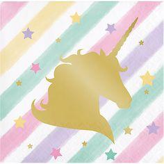Unicorn-Sparkle-Pony-Girl-039-s-Birthday-Party-Tableware-Decorations-Supplies