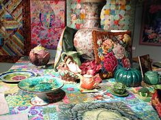 Kaffe Fassett Exhibition at the Design and Textile Museum | Fashion blog
