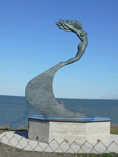 Oleander  Point  Corpus  Christi, Texas New sculpture that represents the ocean & wind!
