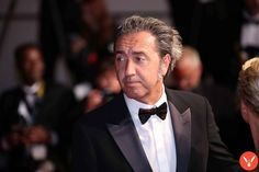 Paolo Sorrentino at Cannes 2017 by Mickael Chavet