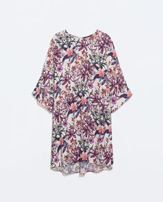 Image 6 of PRINTED TUNIC from Zara